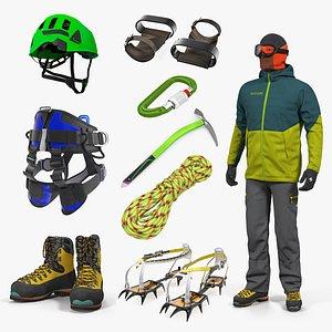 3D climbing equipment 6