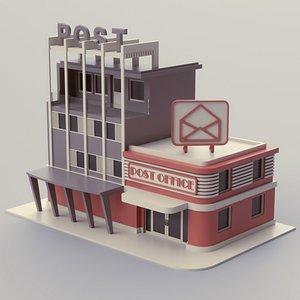 Post Office 03 3D model