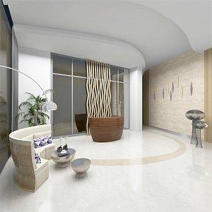 lounge set lobby model