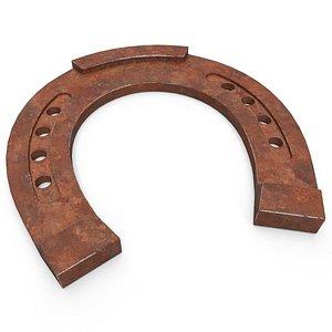 3D horseshoe rust