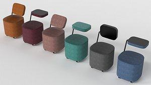 3D iQ seat model