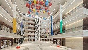 Shopping Mall 12 3D model