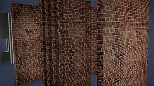 3D model Wall