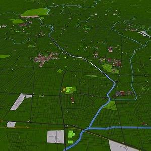3D leon city model
