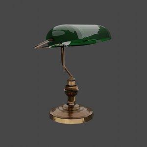3D lamp blender photoshop model