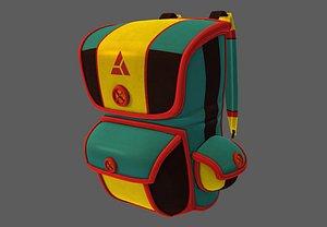3D bag v01 model