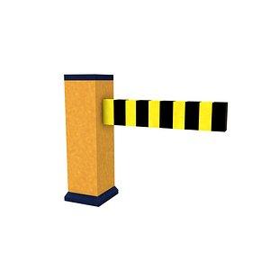 3D Barricade 02 model