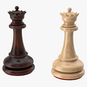 chess queen 3D model