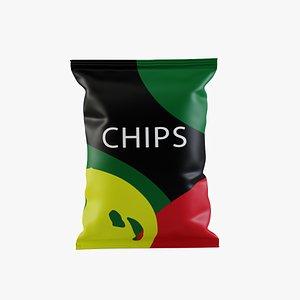 food packaging 3D model