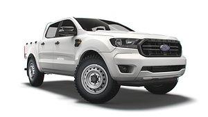 3D model ranger doublecab xlt