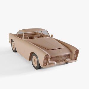 3D 1953 Dodge Zeder Z-250
