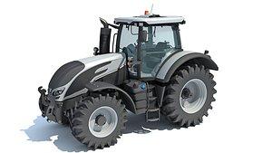 3D farm tractor
