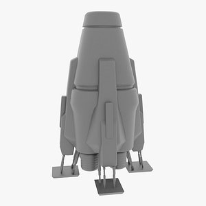 Spacecraft base mesh 3D