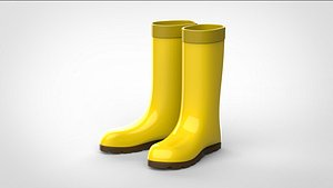rubber boots model