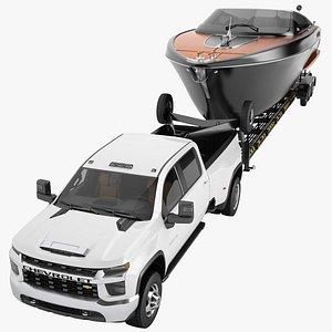 3D Chevrolet Silverado 3500 HD 2021 14 model