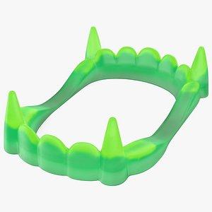 Vampire Teeth Green model