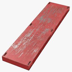 steel crane mat 03 3D