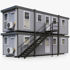 3D Portable Construction Site Building model