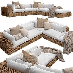Zulu modular sofa model