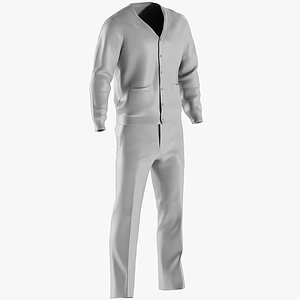 3D pants trousers clothing