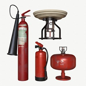 equipment pbr extinguisher 3D