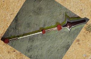 Crimson Hills Horn 3D model