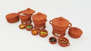 indian food india 3D model