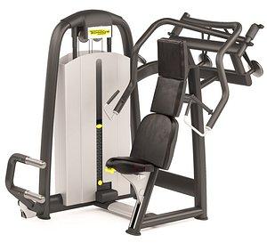 Shoulder Exercise Machine 3D model