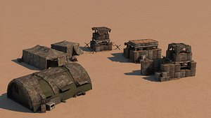3D airfield military