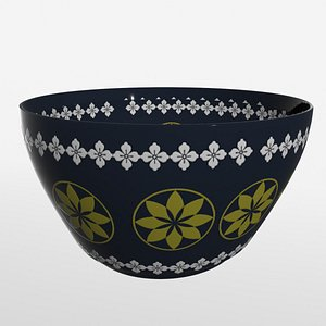 decorative bowl 3D model