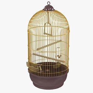 3D Bird Cage 03