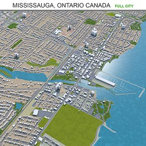Mississauga Ontario Canada 3D model
