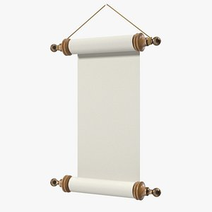 3D Paper Scroll Wall Hanging
