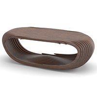 Parametric wooden table