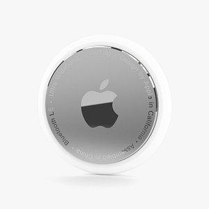 3D Apple AirTag model