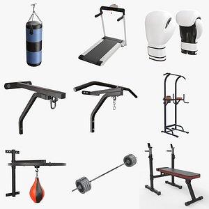 Sports equipment vol. 1 3D