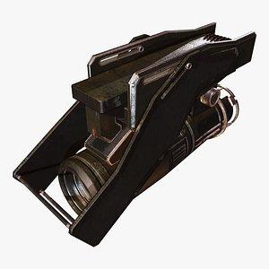 Jet Engine B 3D model