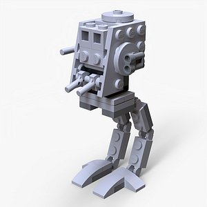 Lego AT-ST model