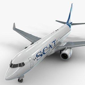 boeing 737-8 scat airlines model