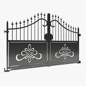 3D wrought iron