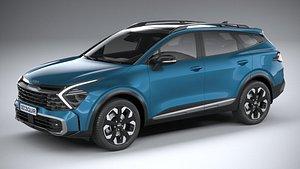 Kia Sportage 2022 3D model