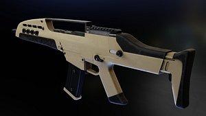 HK XM8 Tommy Build 3D model