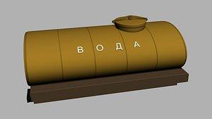 3D Gsz 53 water tank model