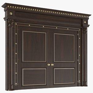 Classic Interior Door 3D