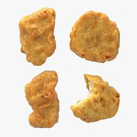 Realistic Chicken Nuggets