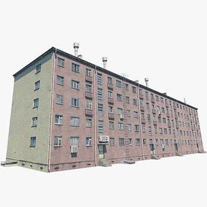 building 1960s norilsk 3D model