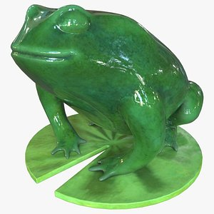 3D statue toad