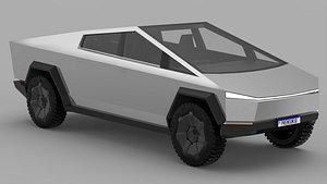 Tesla Cybertruck 2020 3D