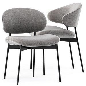 LUZ Fabric chair 3D model