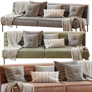 Sofa Botero Zanotta 3D